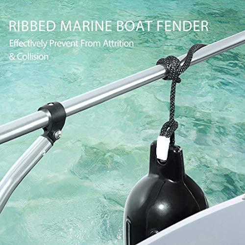 VIVOHOME Vinyl Ribbed Marine Fender